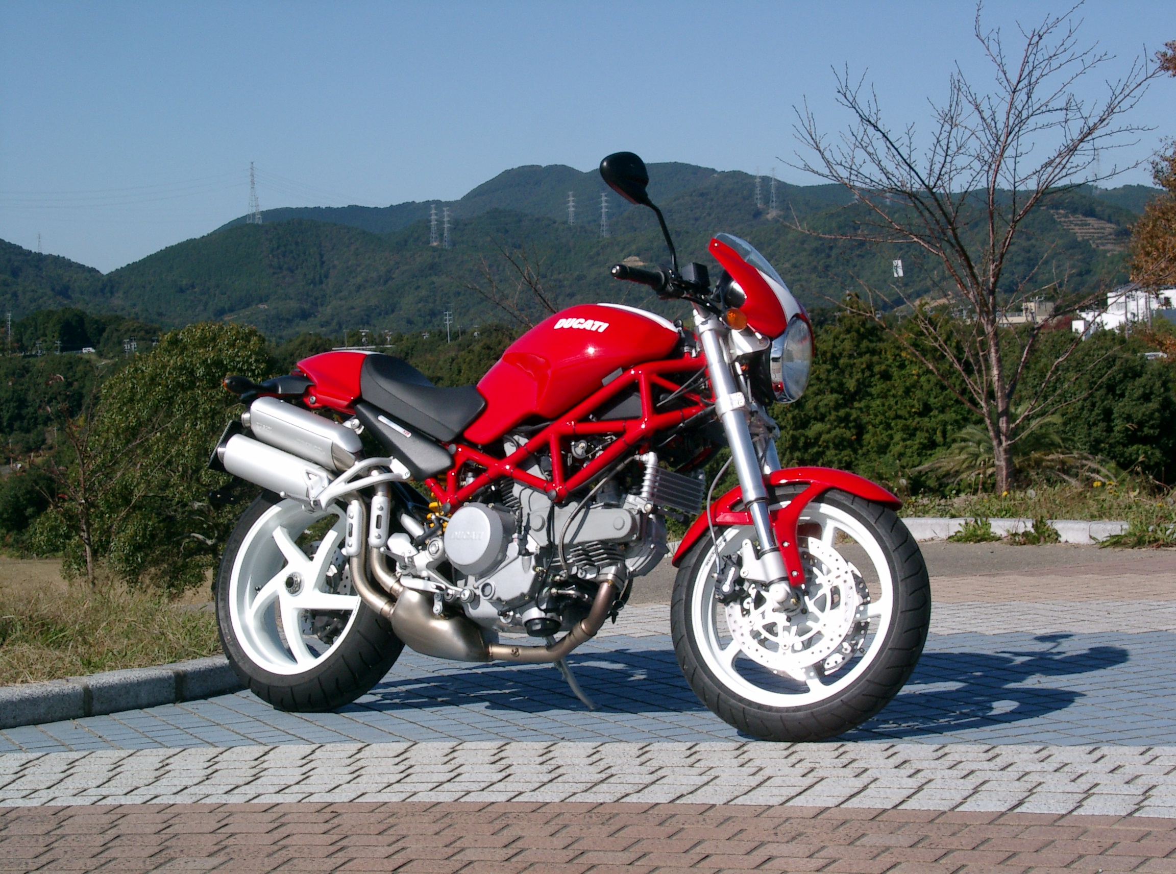 Ducati monster photo - 2