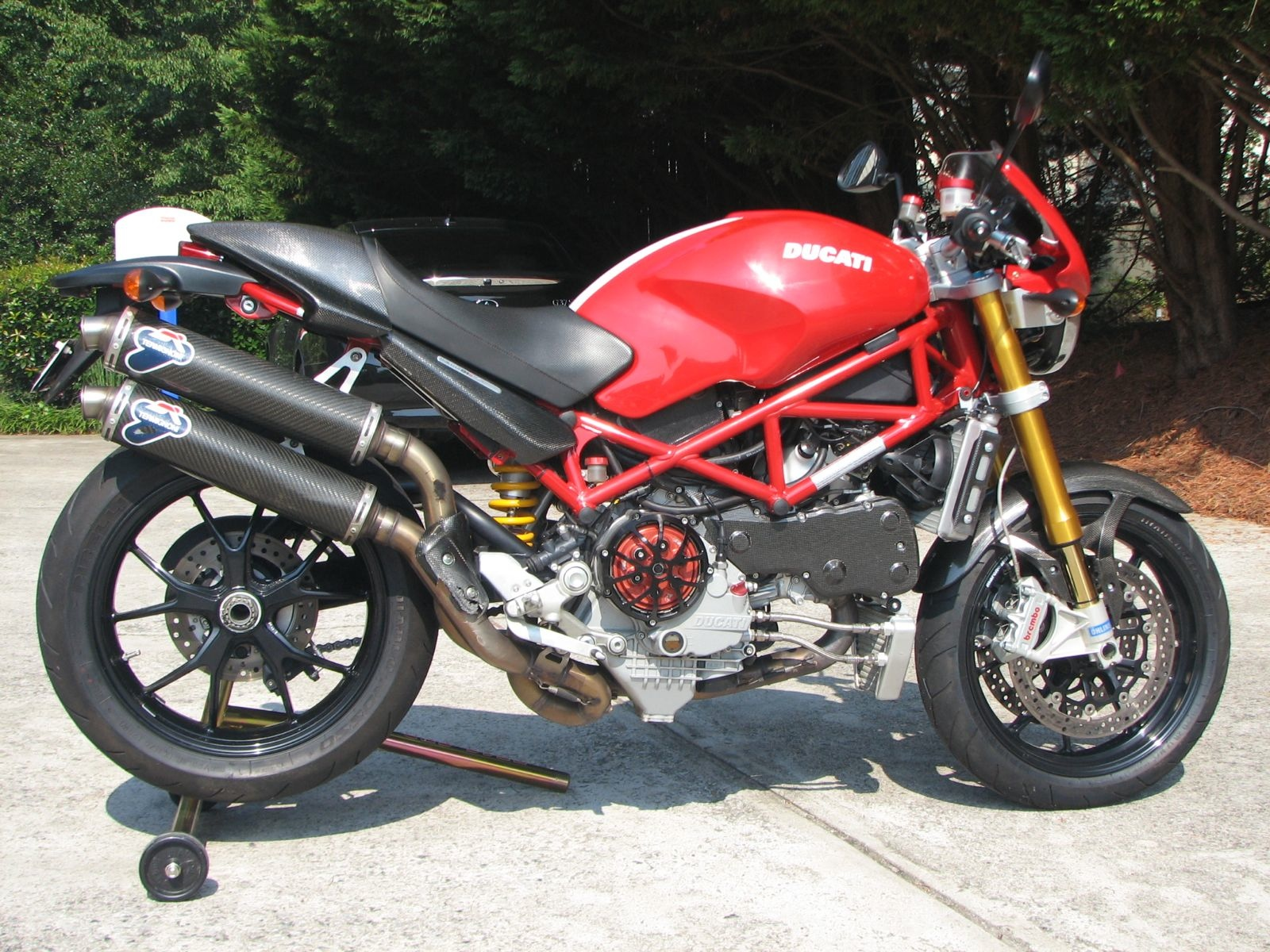 Ducati monster photo - 4