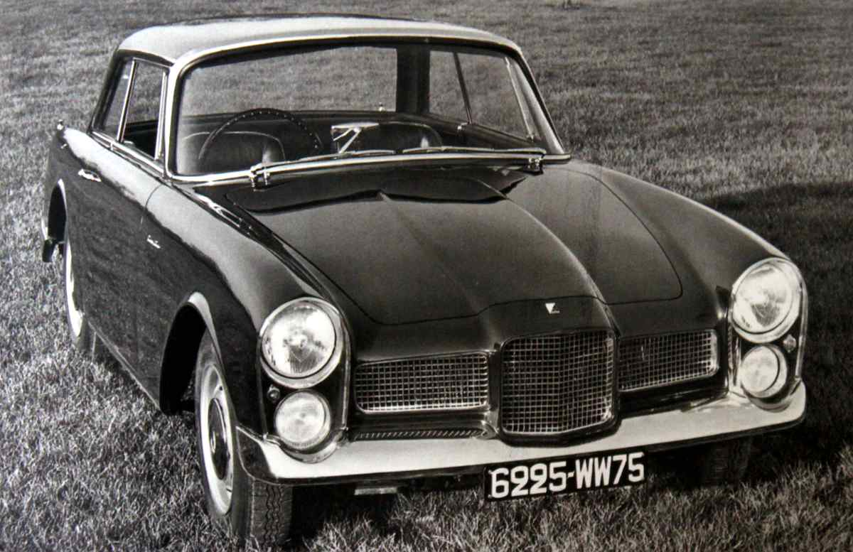 Facel vega facellia photo - 2