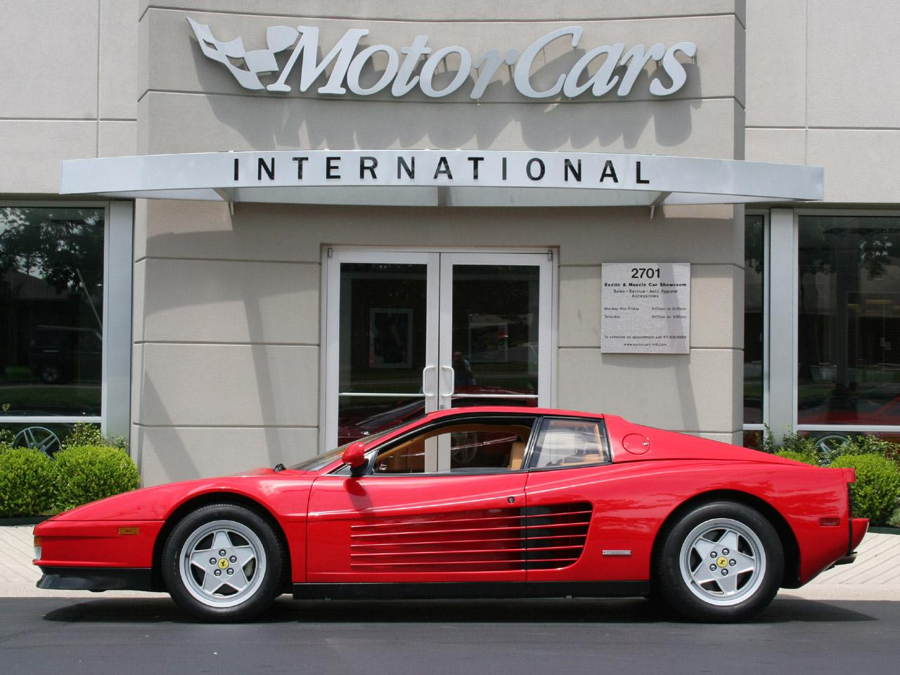Ferrari testarossa photo - 2