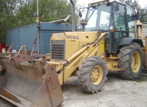 Ford 655d photo - 2