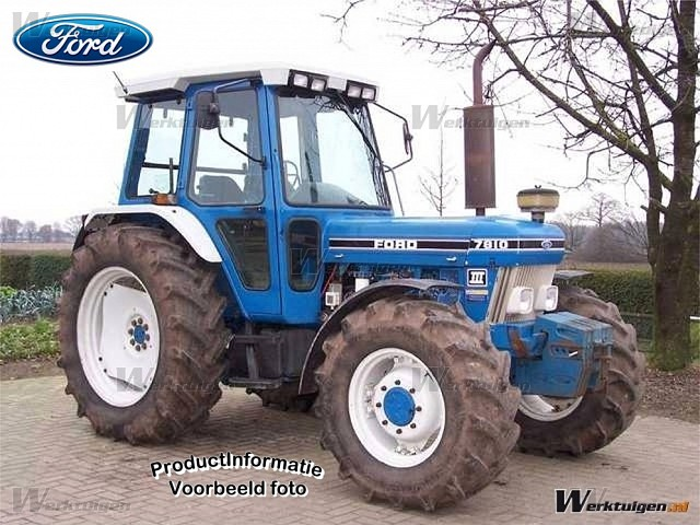 Ford 7810 photo - 4
