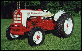 Ford 801 photo - 1