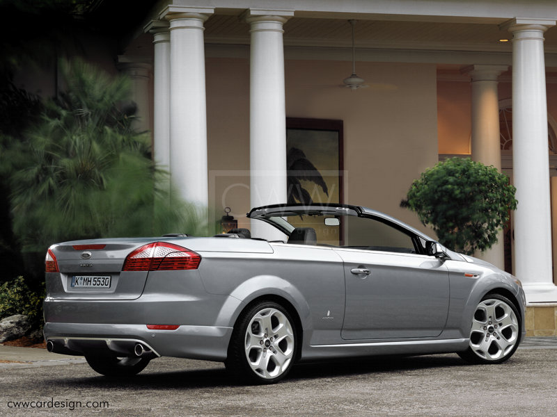 Ford cabriolet photo - 1