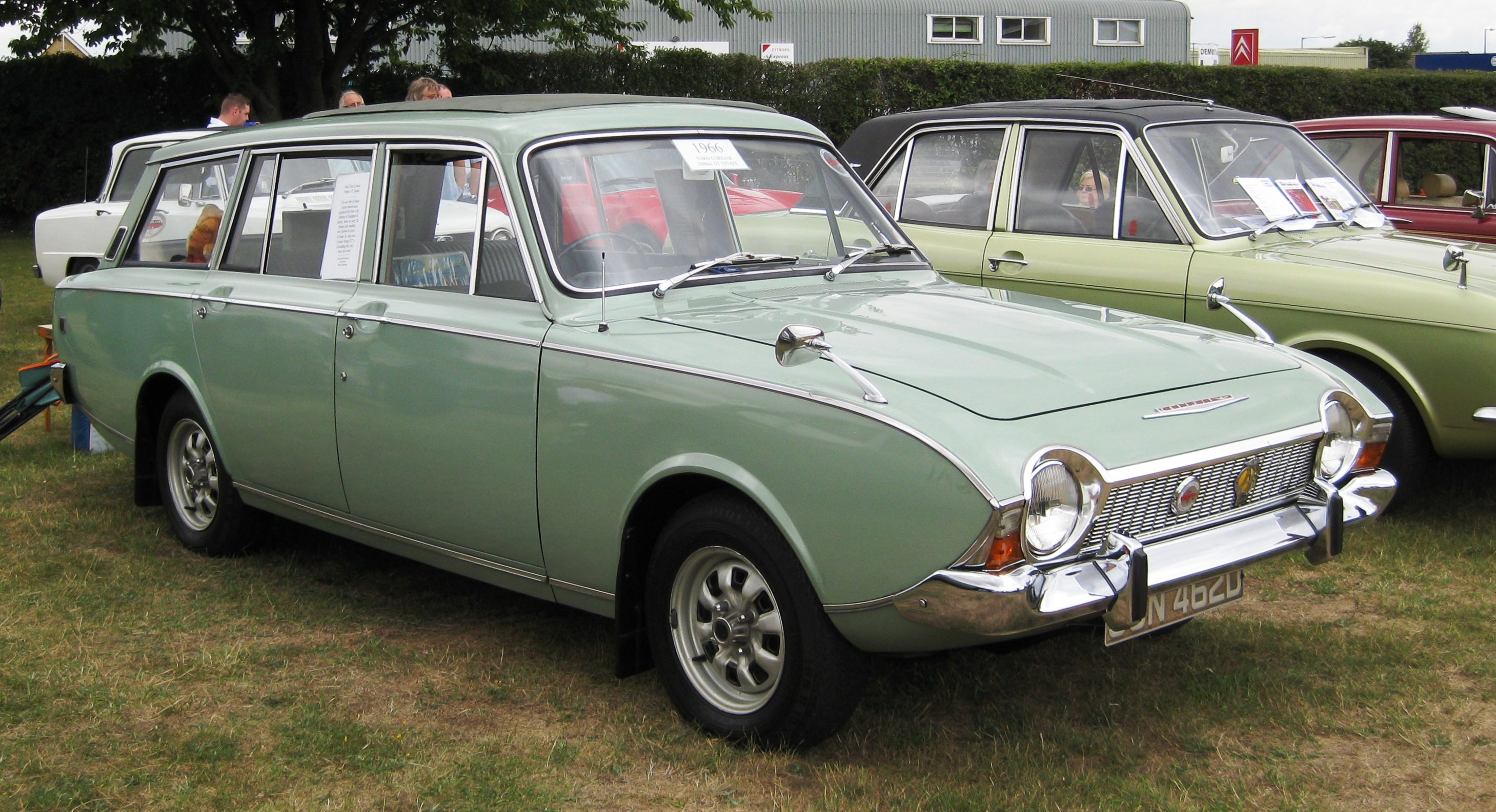 Ford corsair photo - 1