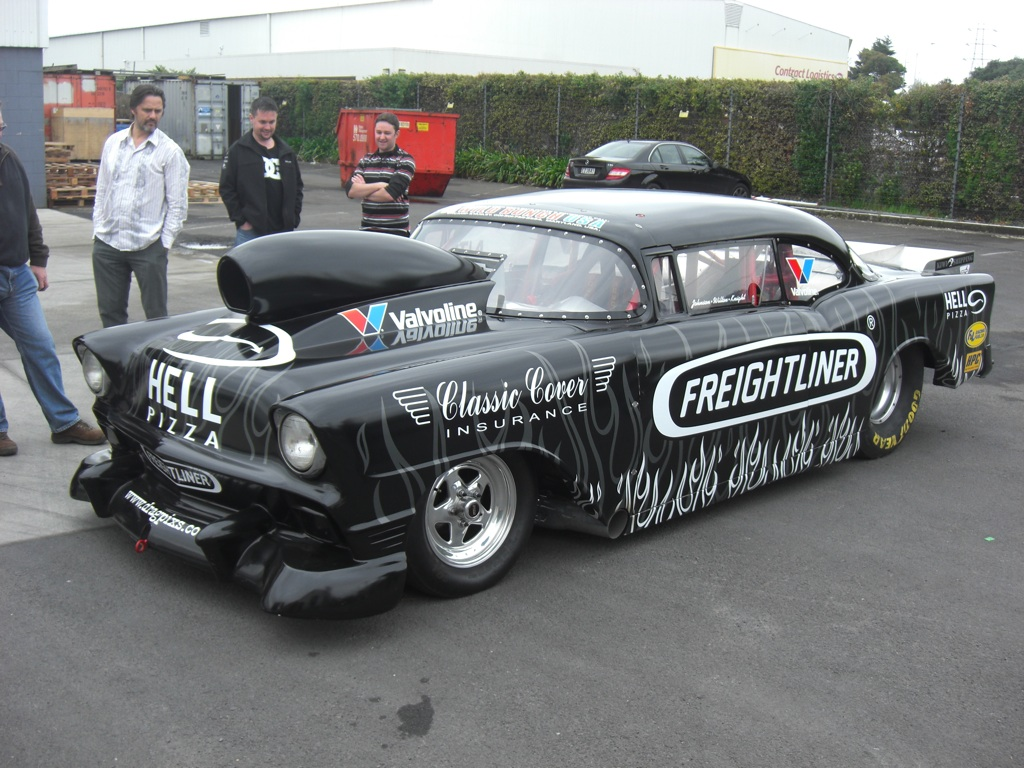 Ford dragster photo - 2