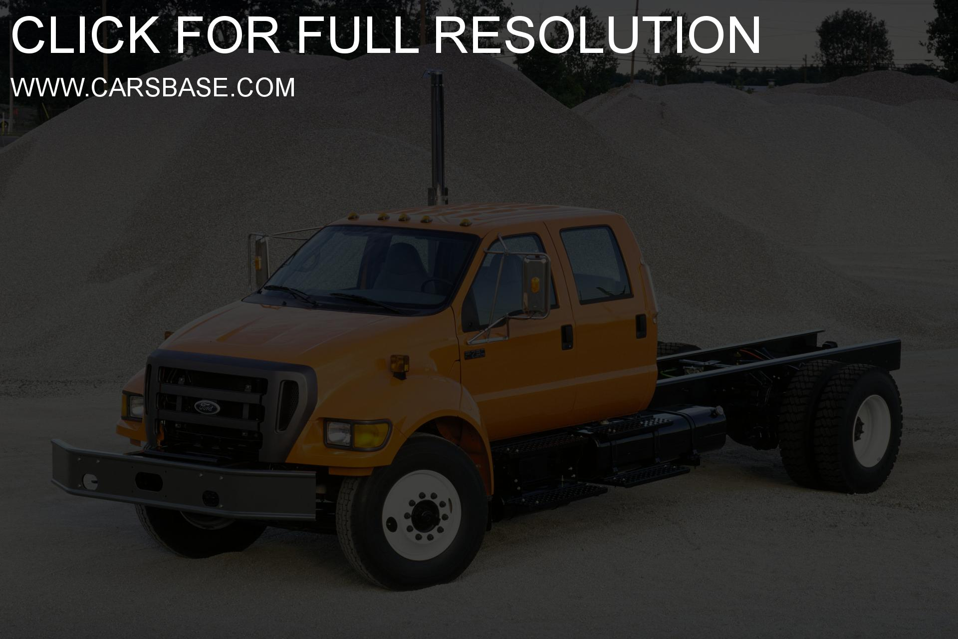 Ford f-750 photo - 1