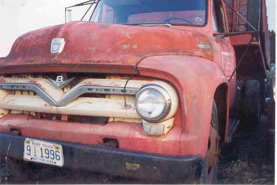 Ford f600 photo - 2