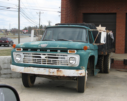 Ford f600 photo - 4