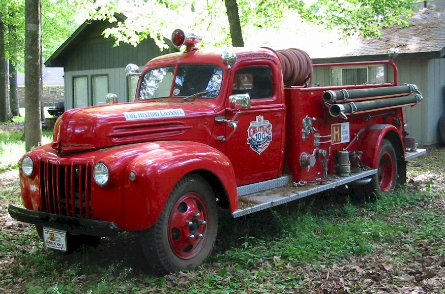 Ford firetruck photo - 2