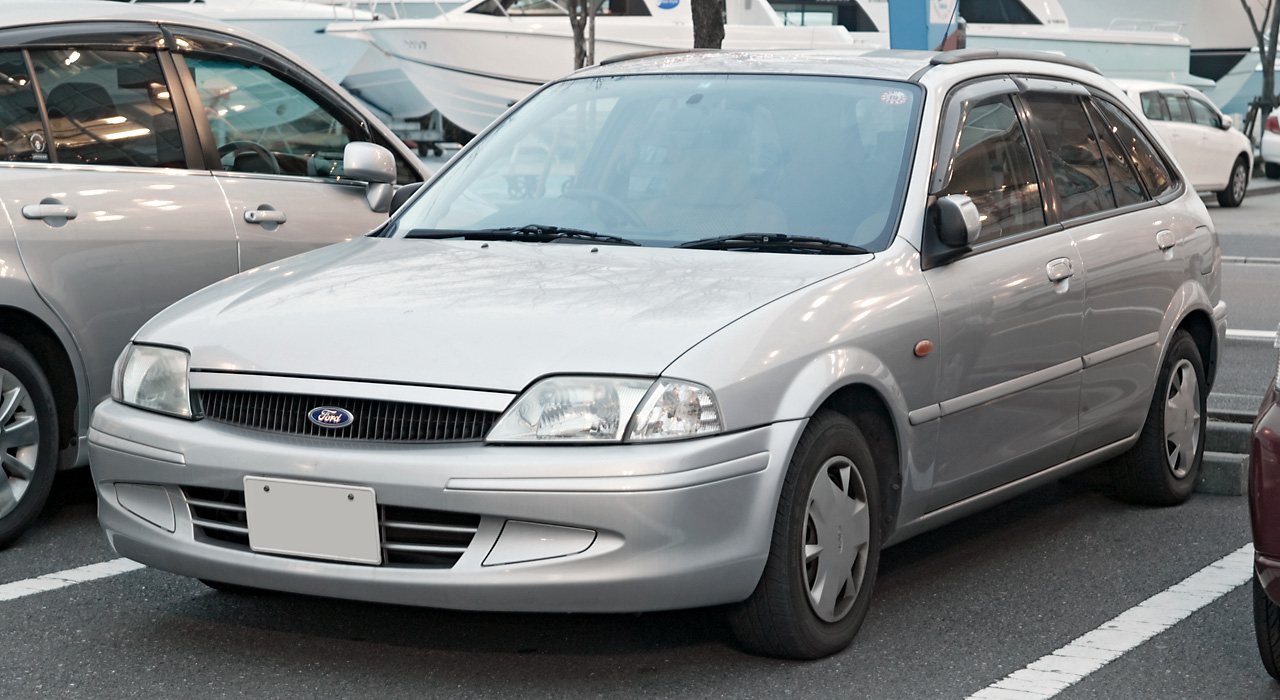Ford laser photo - 2