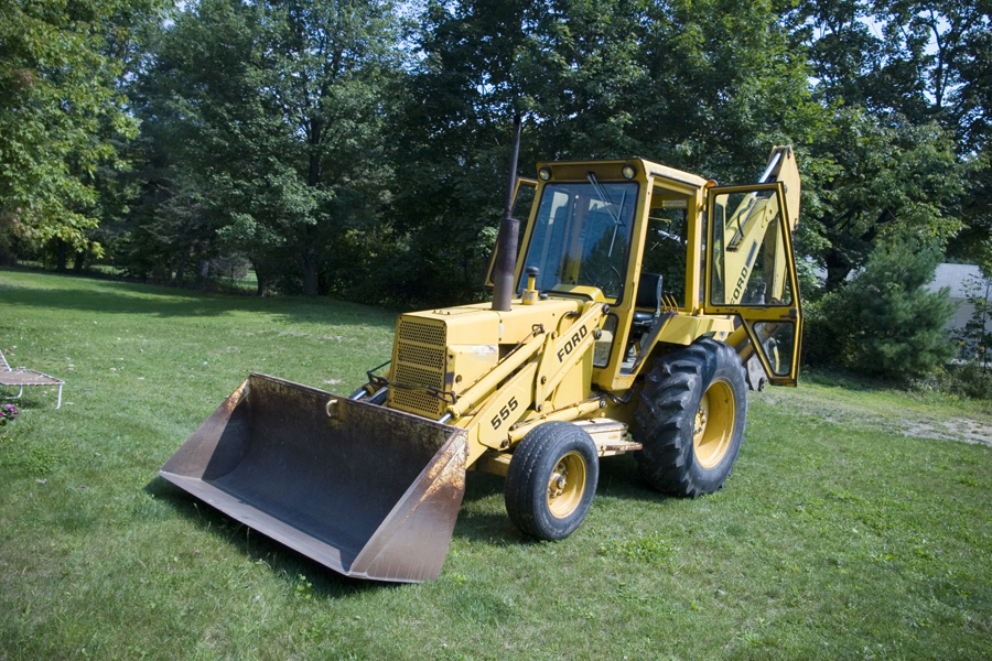 Ford loader photo - 1