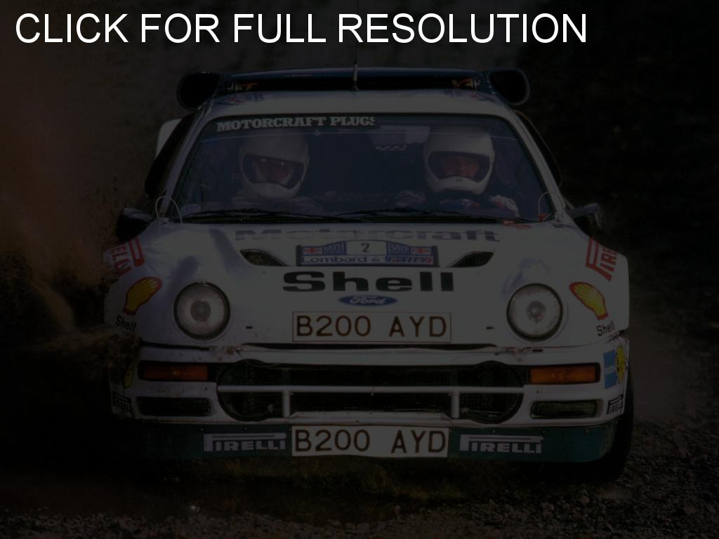 Ford rs200 photo - 1