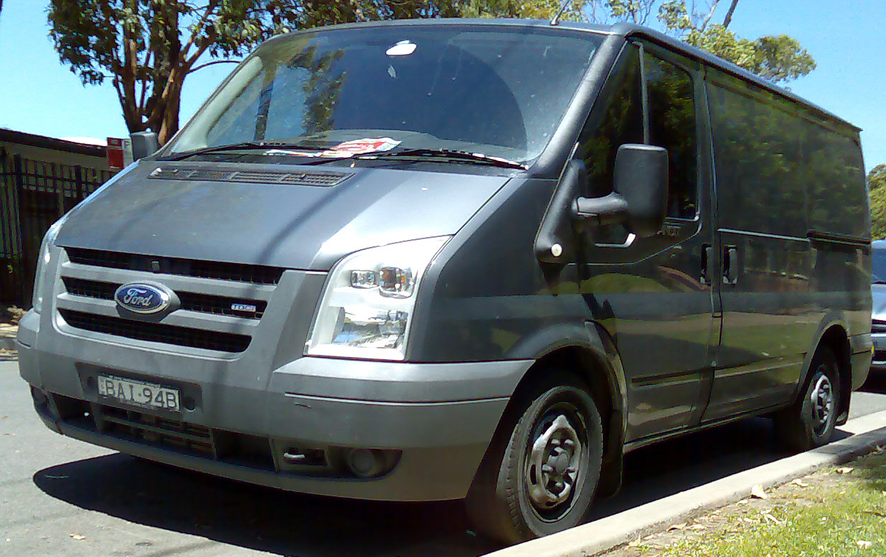 Ford van photo - 2