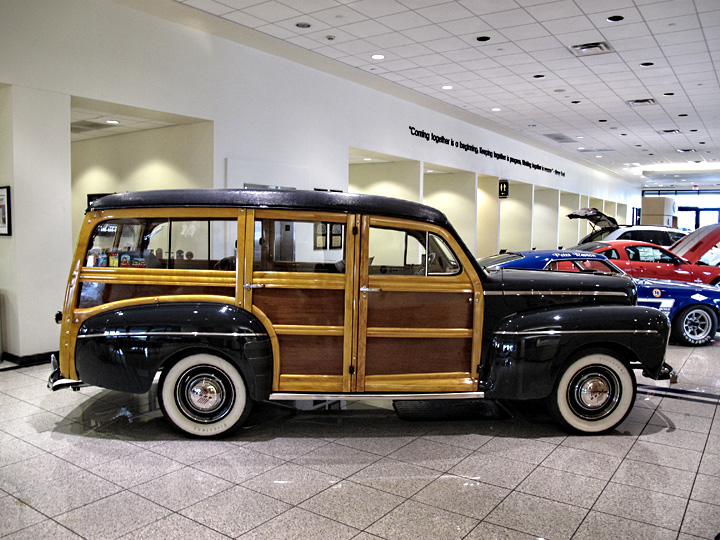 Ford woody photo - 2