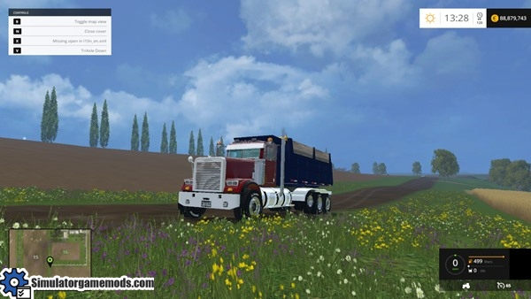 Freightliner fld-sd photo - 3
