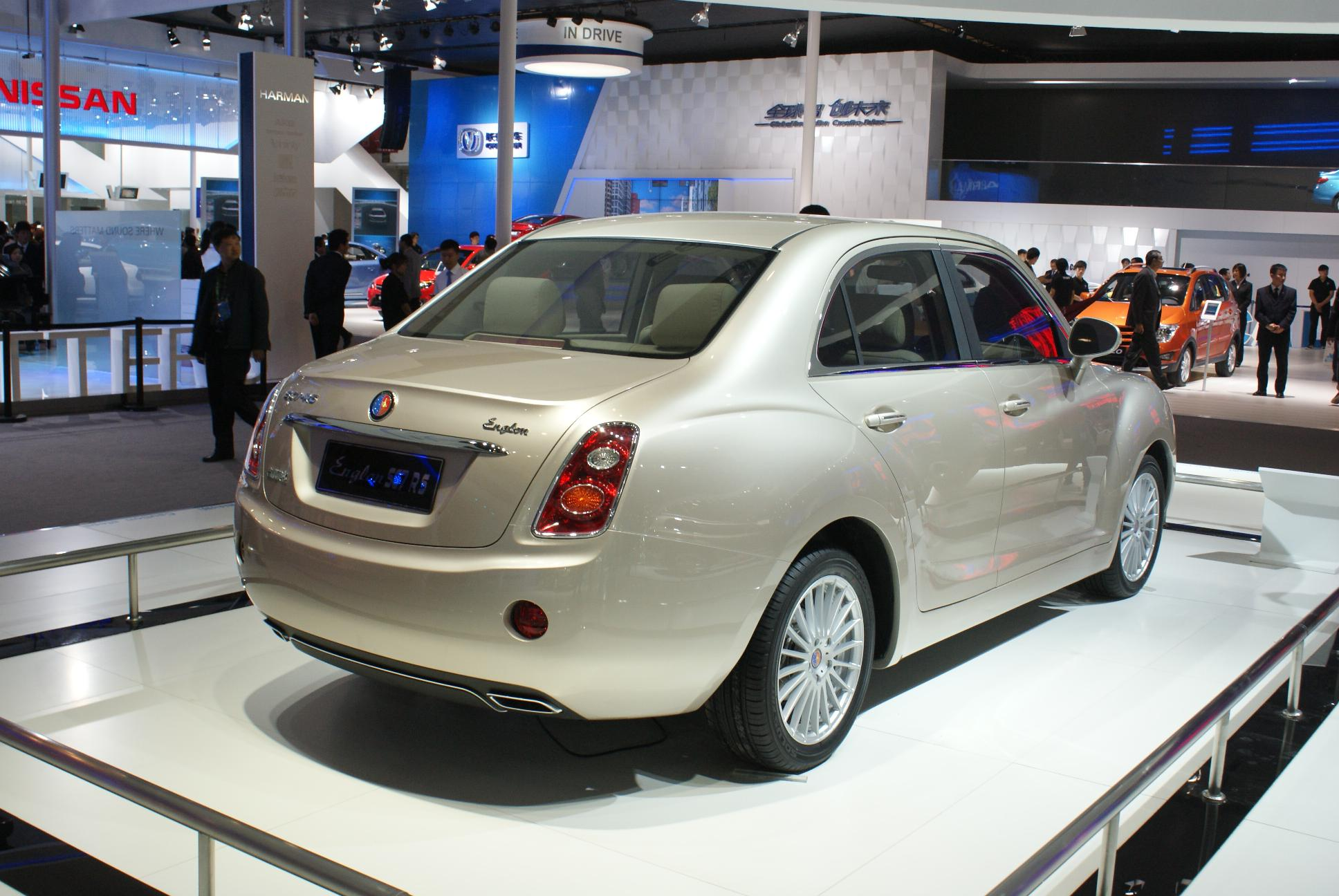 Geely englon photo - 4