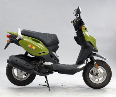 Genuine scooter roughhouse photo - 1