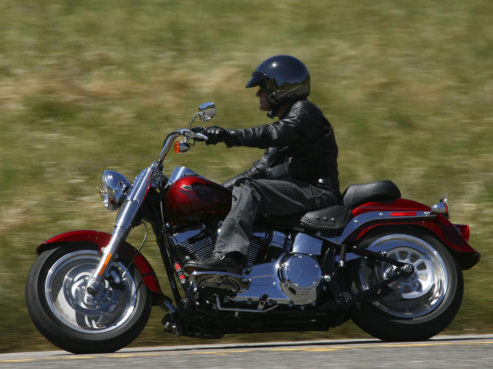 Harley-davidson fat photo - 4