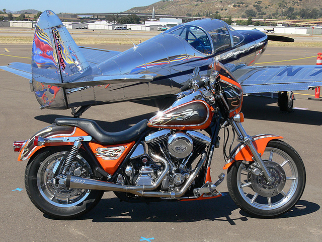 Harley-davidson fxr photo - 4