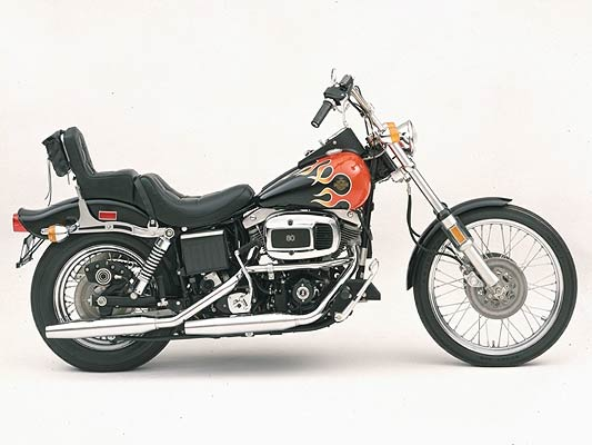 Harley-davidson fxwg photo - 2