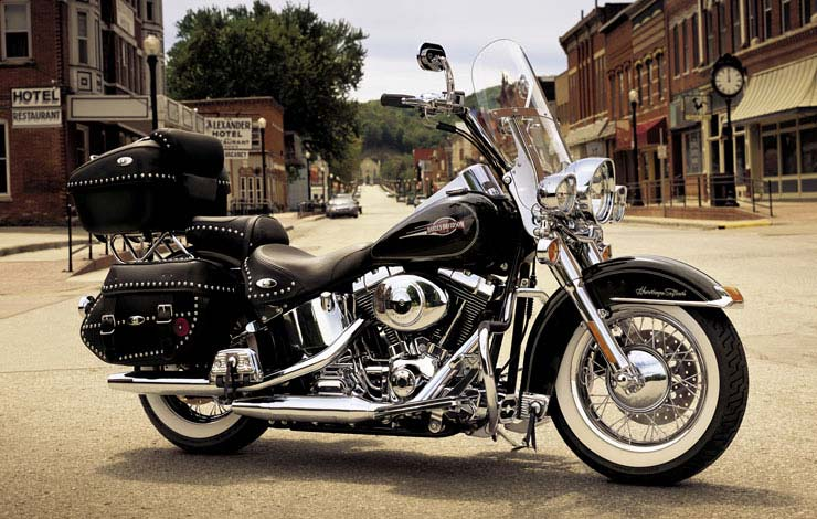 Harley-davidson heritage photo - 1