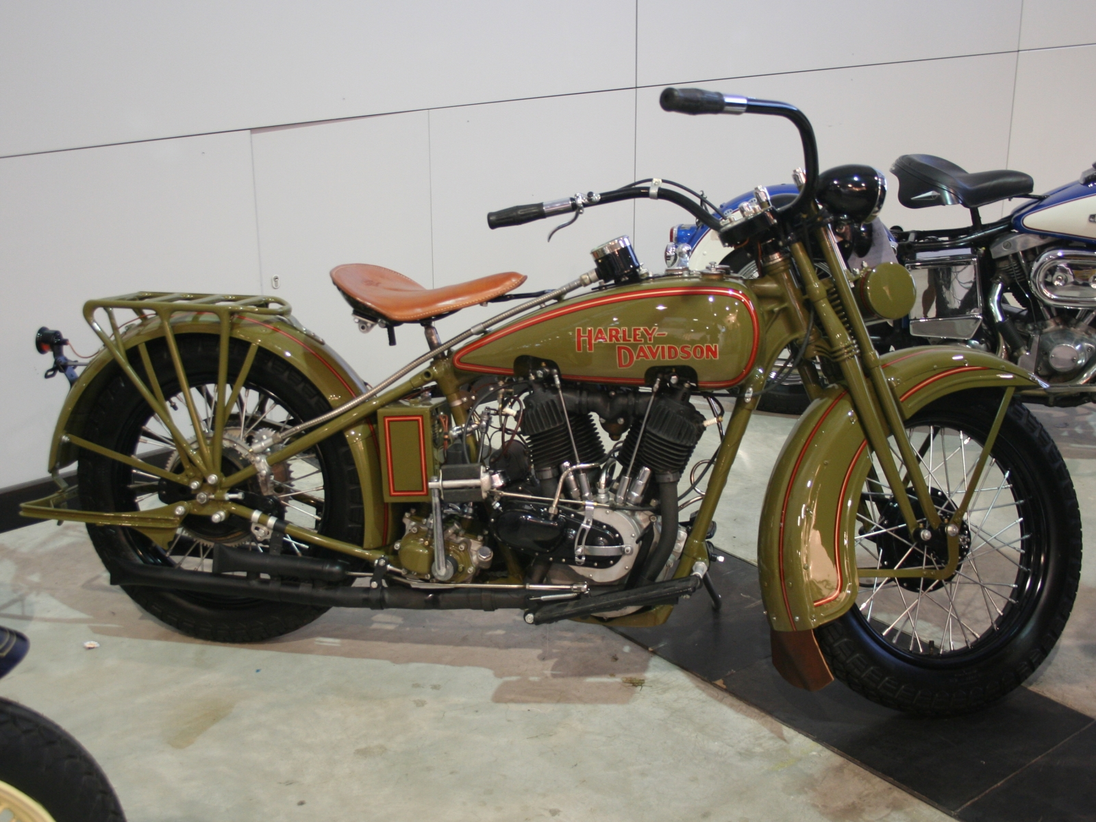 Harley-davidson jd photo - 2