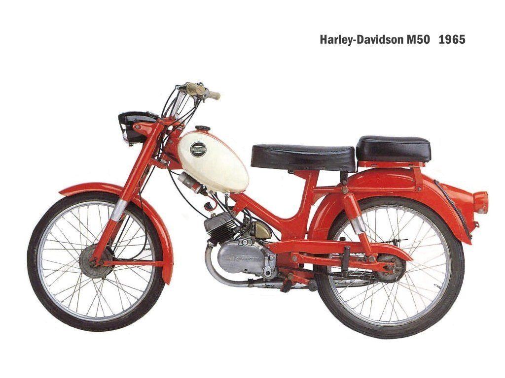 Harley-davidson m50 photo - 1