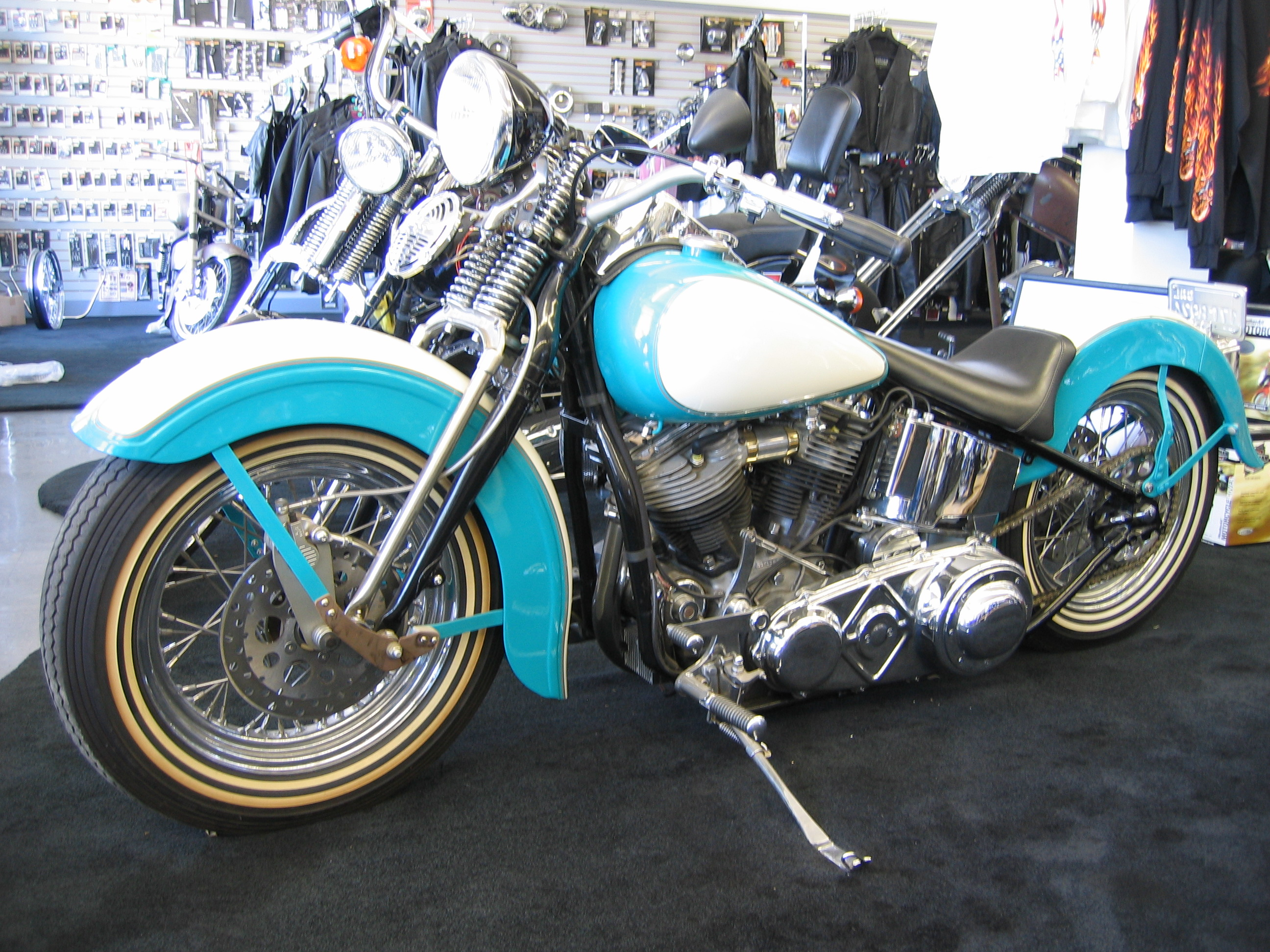 Harley-davidson panhead photo - 3