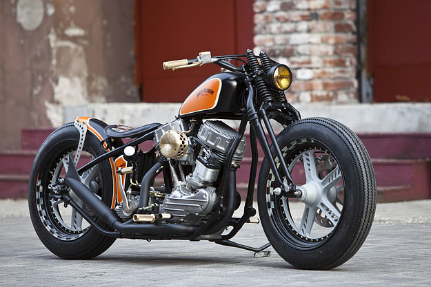 Harley-davidson panhead photo - 4