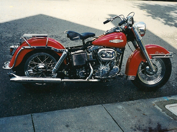 Harley-davidson shovelhead photo - 3