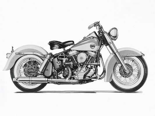 Harley-davidson twin photo - 3
