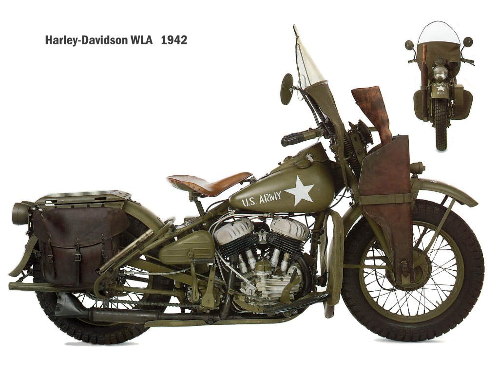 Harley-davidson wla photo - 1