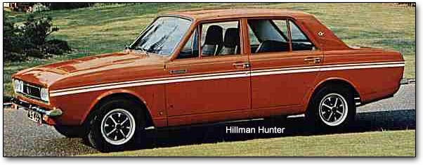 Hillman hunter photo - 4