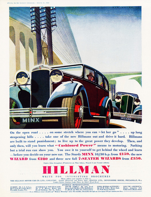 Hillman wizard photo - 3