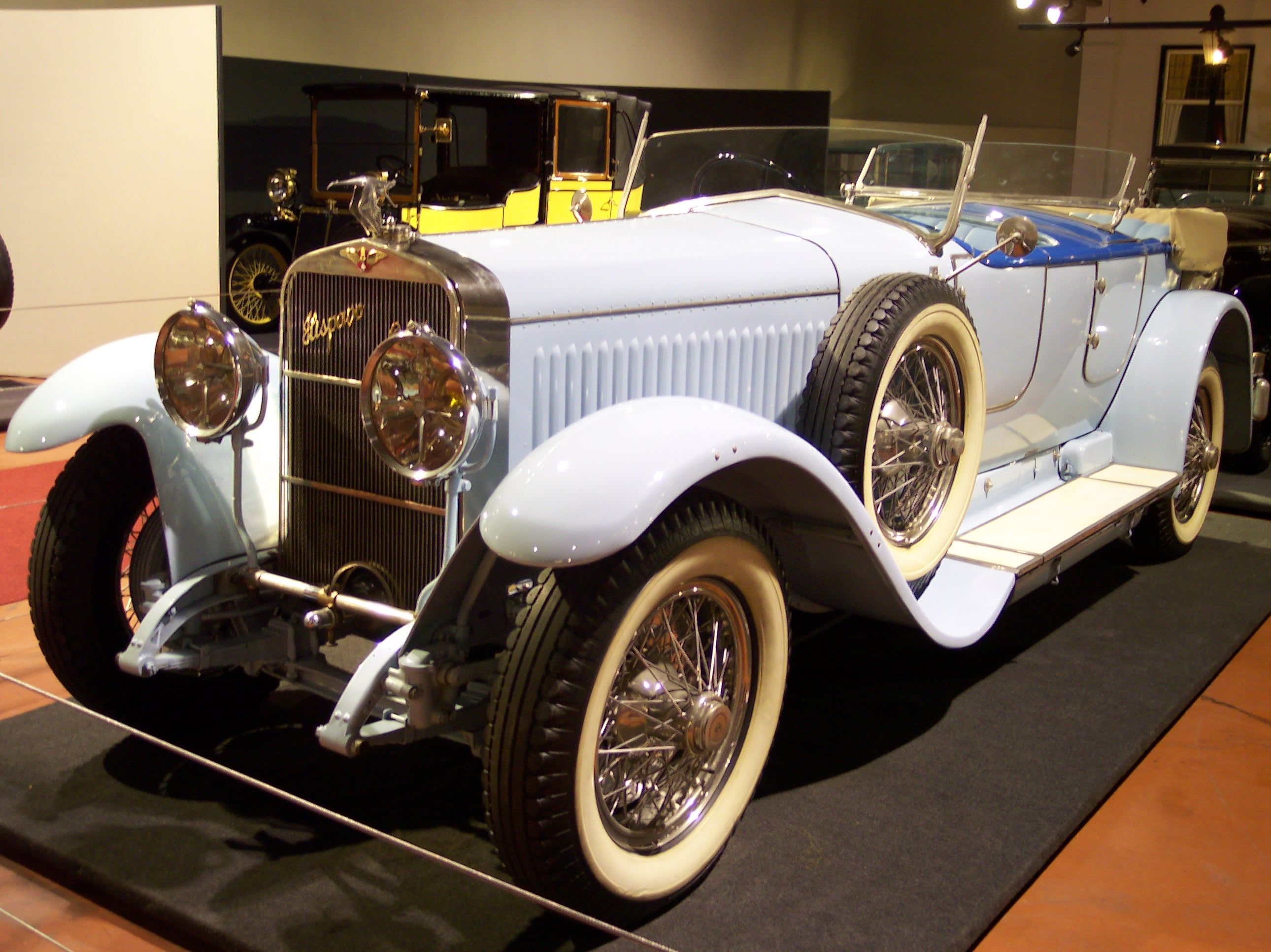 Hispano suiza h6b photo - 2