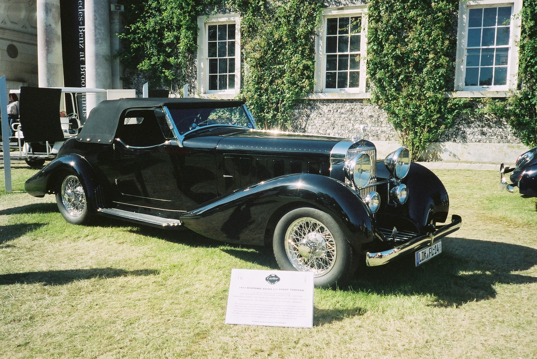 Hispano suiza j12 photo - 1