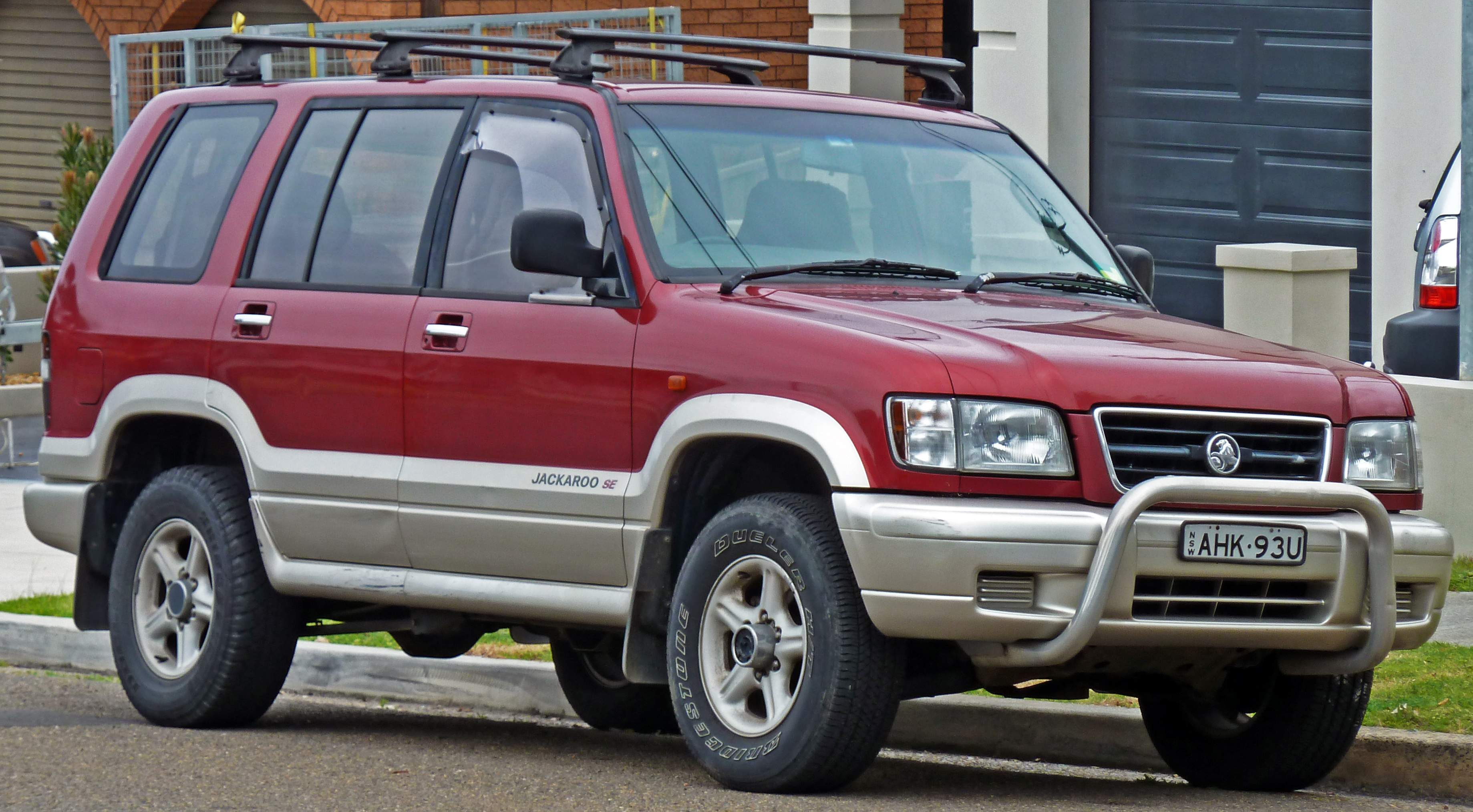 Holden jackaroo photo - 2