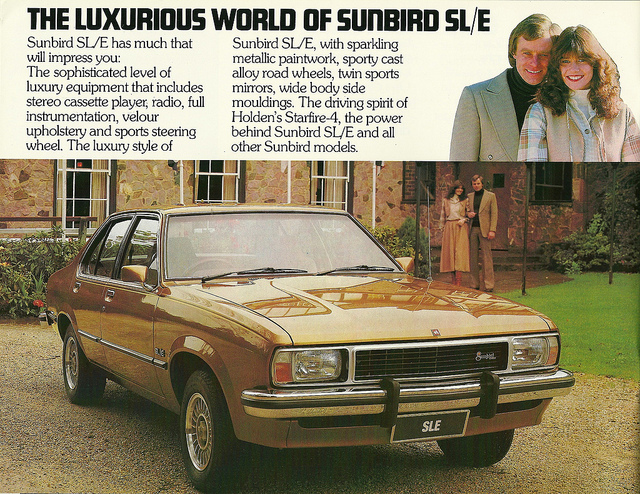 Holden sunbird photo - 3