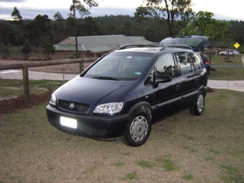 Holden zafira photo - 2