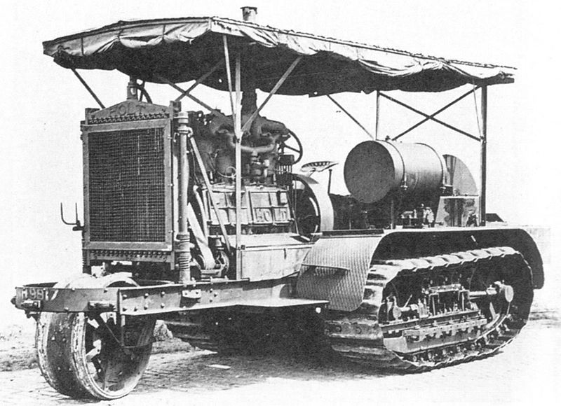 Holt tractor photo - 2