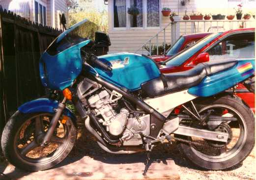 Honda cb-1 photo - 2