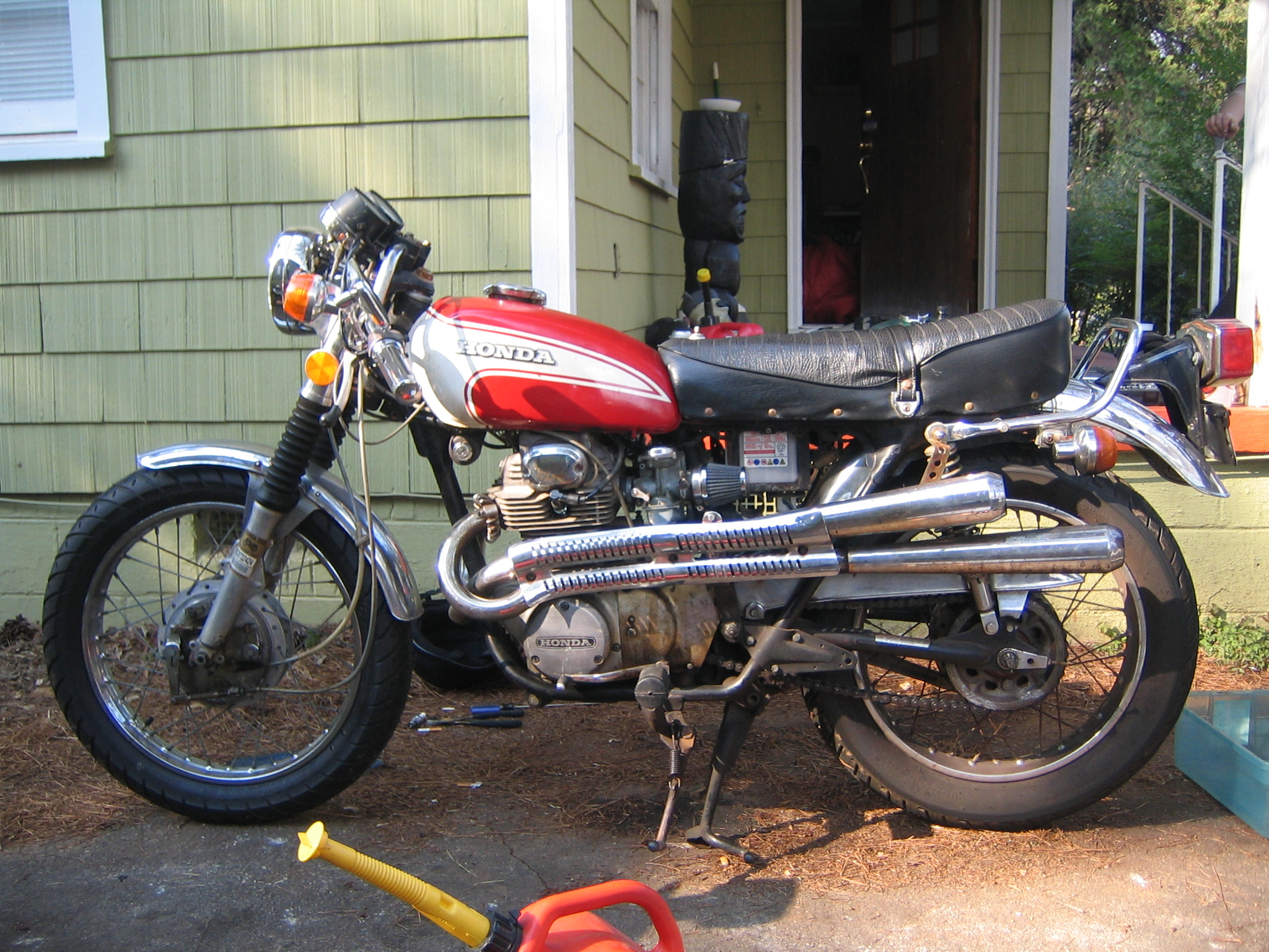 Honda cl350 photo - 2