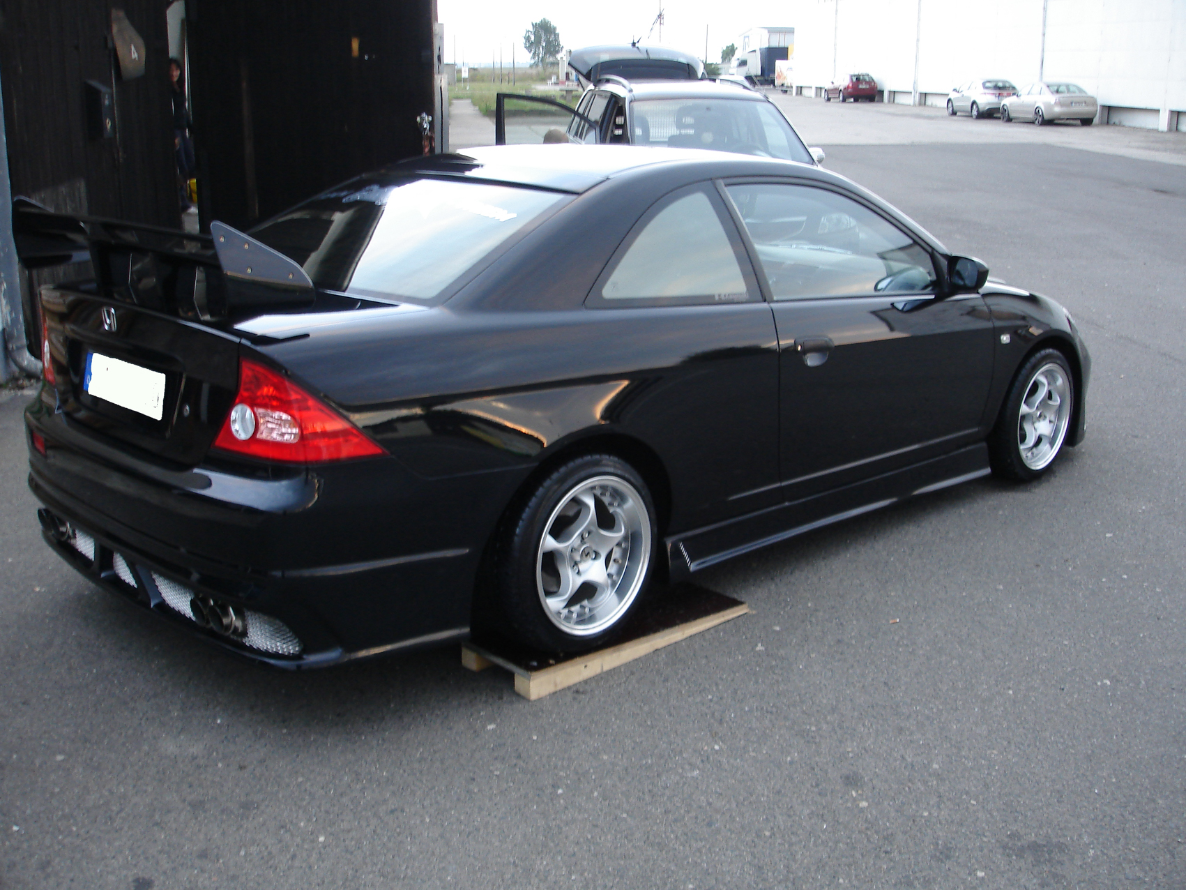 Honda coupe photo - 4