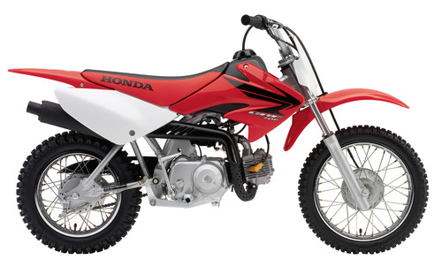 Honda crf70f photo - 3