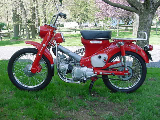 Honda ct90 photo - 2
