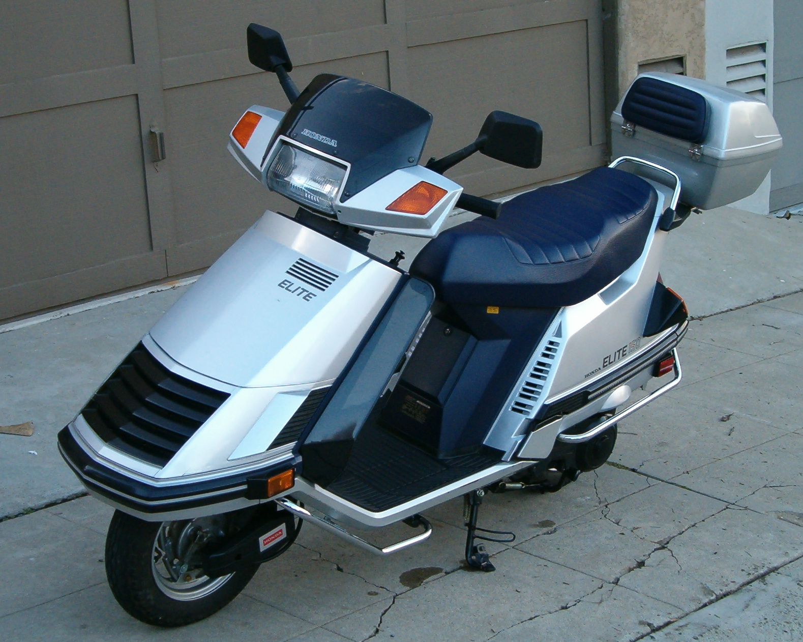 Honda elite photo - 4