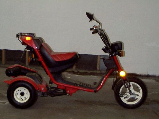 Honda gyro-x photo - 1
