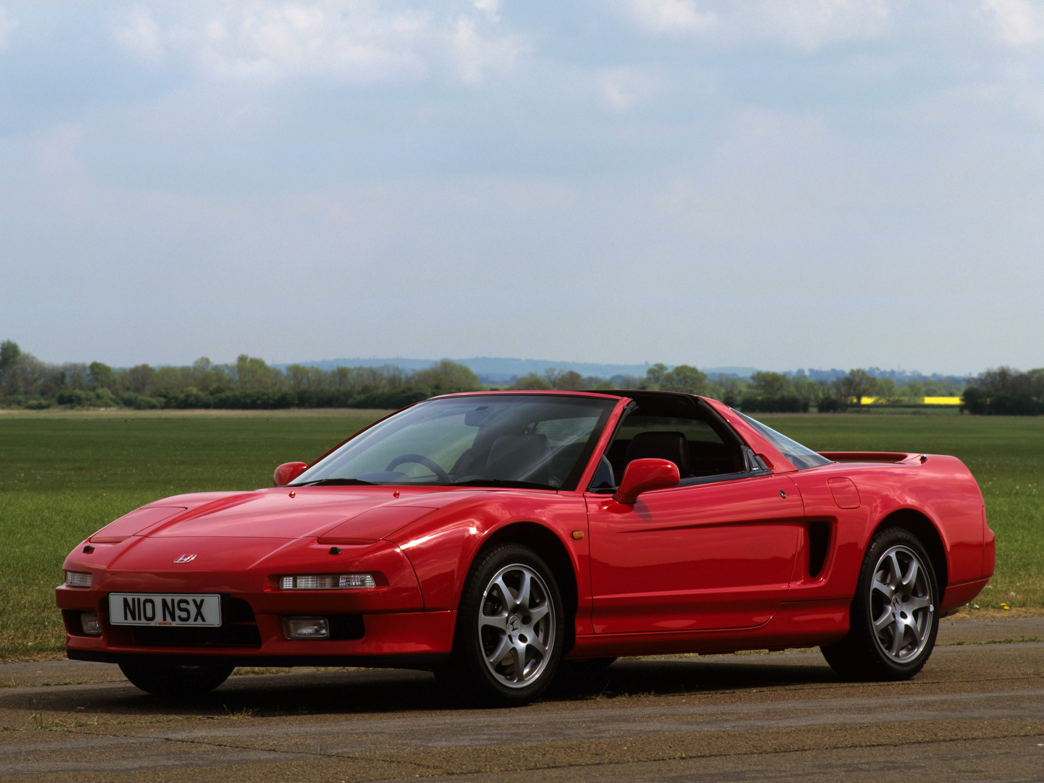 Honda nsx-t photo - 4