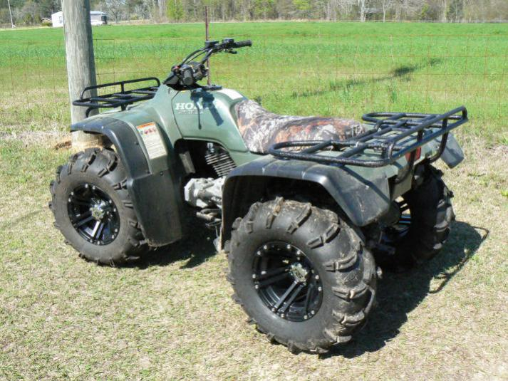 Honda rancher photo - 2